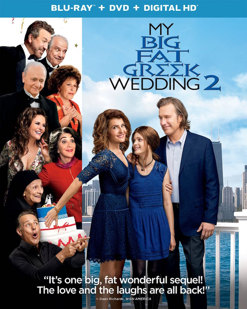 here s what s hitting blu ray dvd and digital hd my big fat greek wedding 2