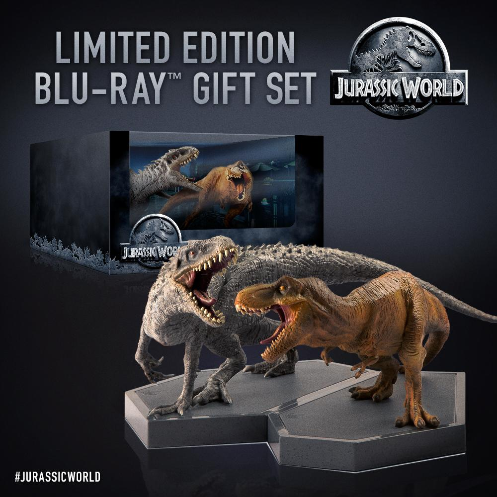 Jurassic World Limited Edition Blu-ray Gift Set