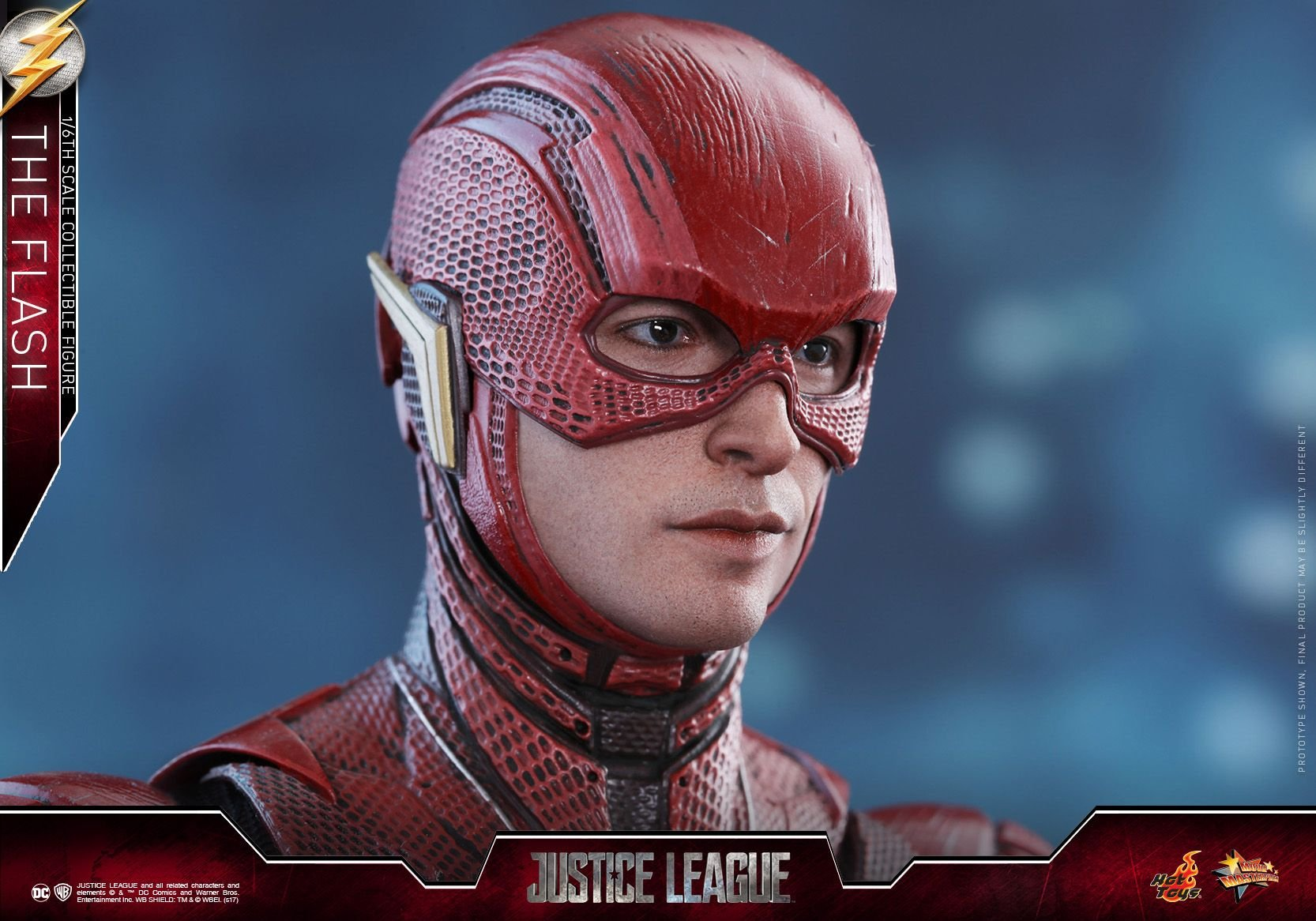 Justice League The Flash Hot Toy