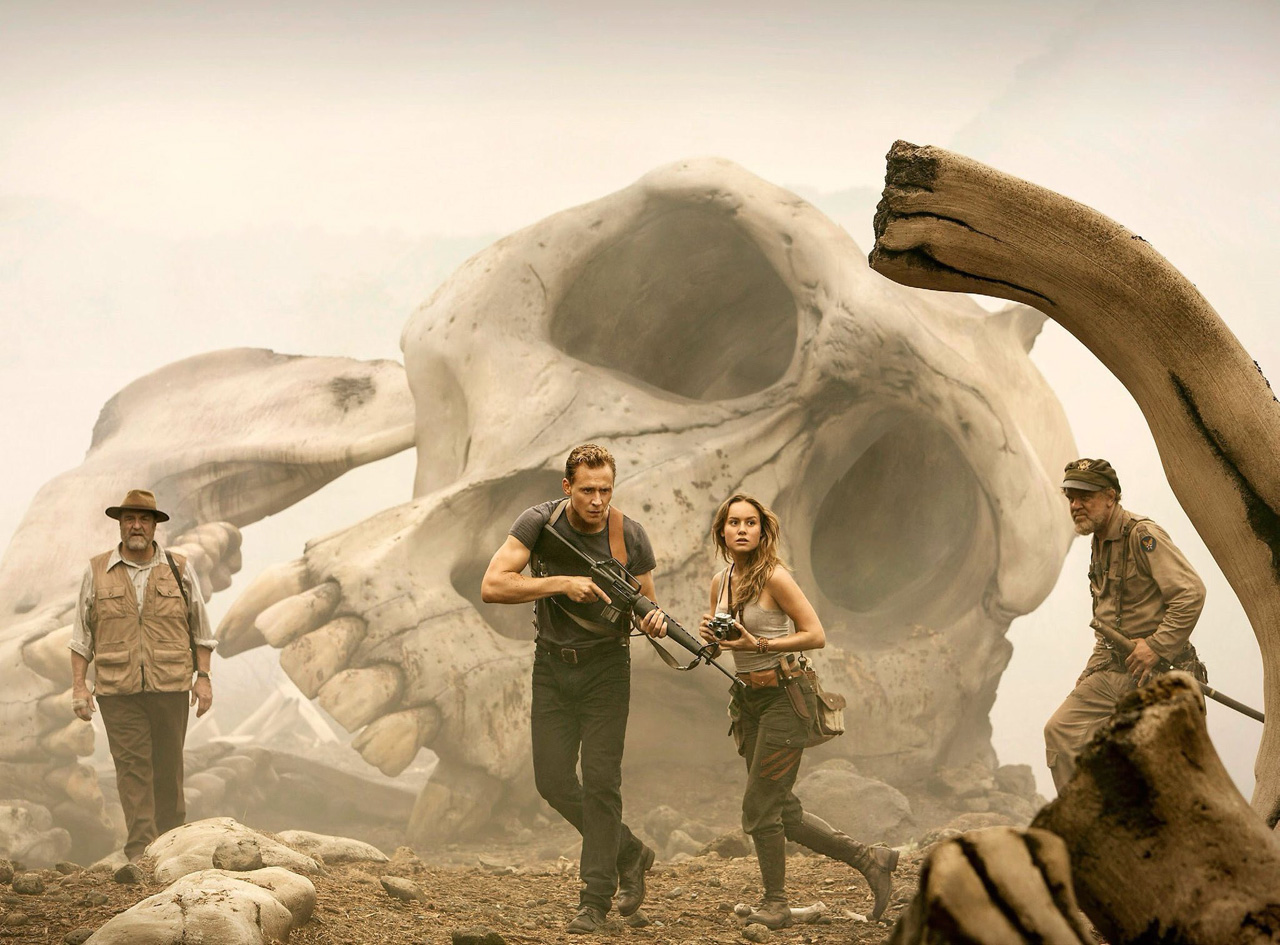 King Kong In Action In A Skull Island Trailer Tease