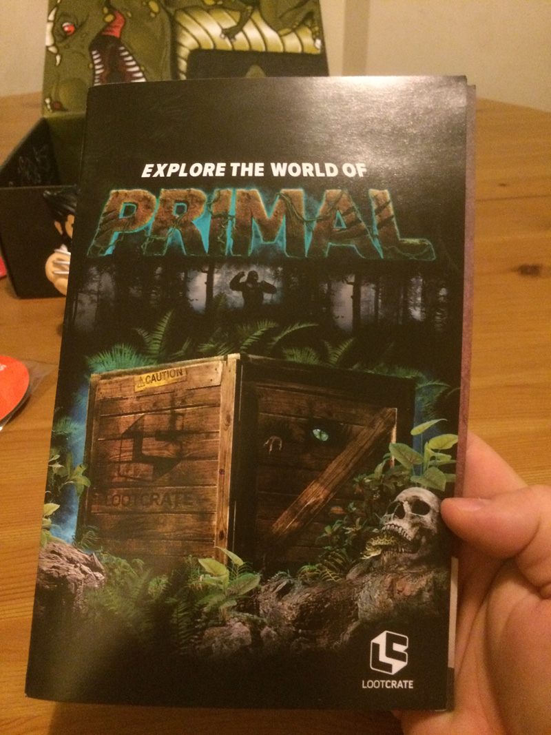 March Loot: Primal