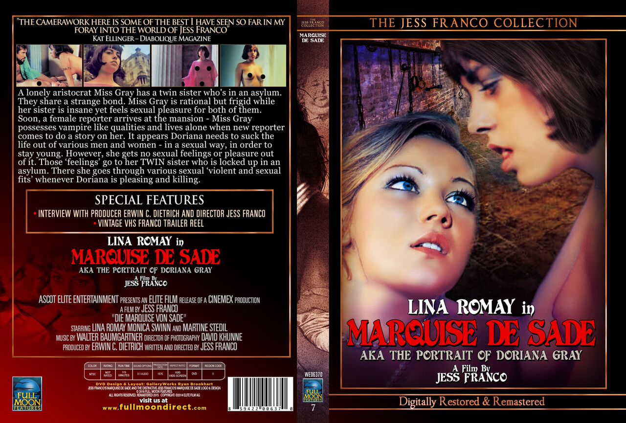NSFW: Full Moon to Release Uncut Jess Franco's Marquise De Sade