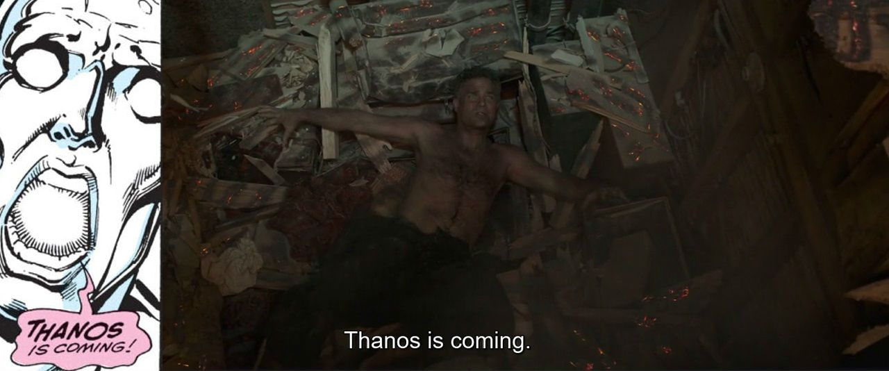 """Thanos is coming"""