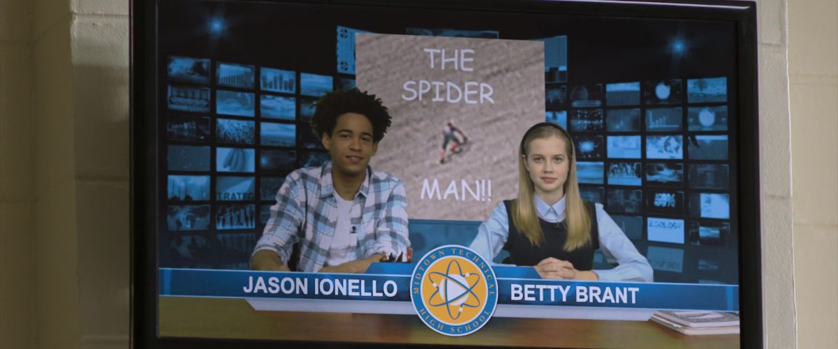 Jason Ionello and Betty Brant