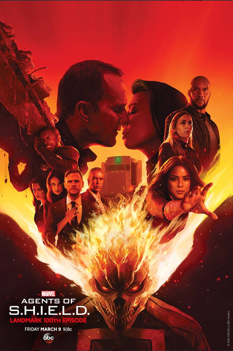 Marvel's Agents of SHIELD Road to 100 Poster