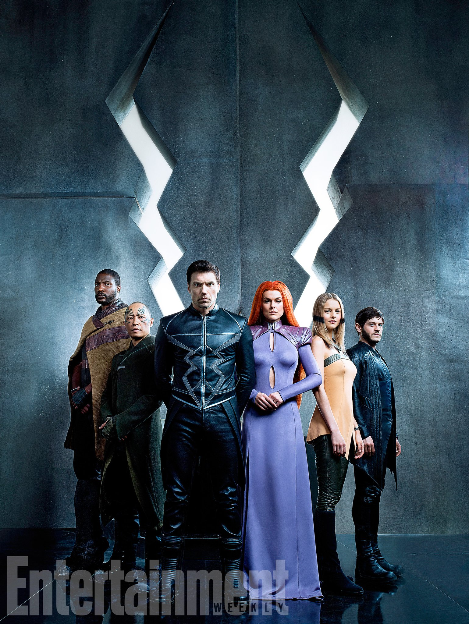 Marvel S Jessica Jones Janet Mcteer White Queen Joins: First Marvel's Inhumans Photo Reveals The Royal Family