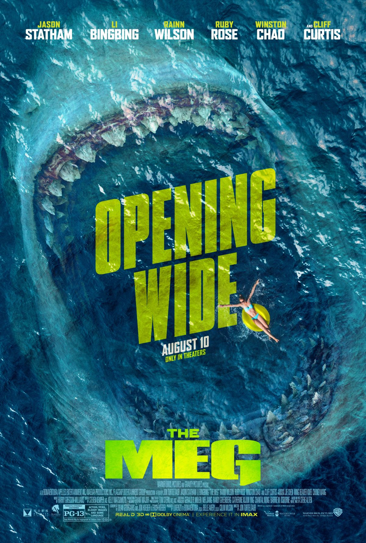 New Hindi Movei 2018 2019 Bolliwood: Take A Bite Out Of Summer In The Meg Poster