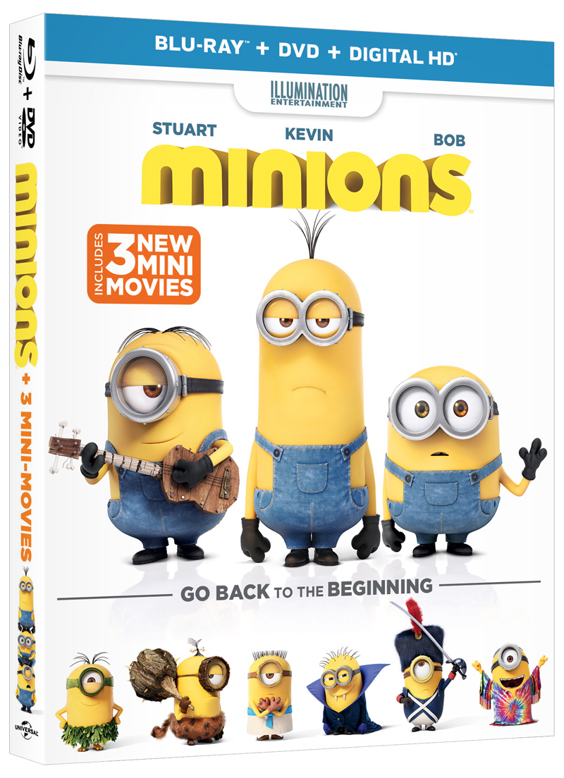 the new trailer and poster for minions. Black Bedroom Furniture Sets. Home Design Ideas