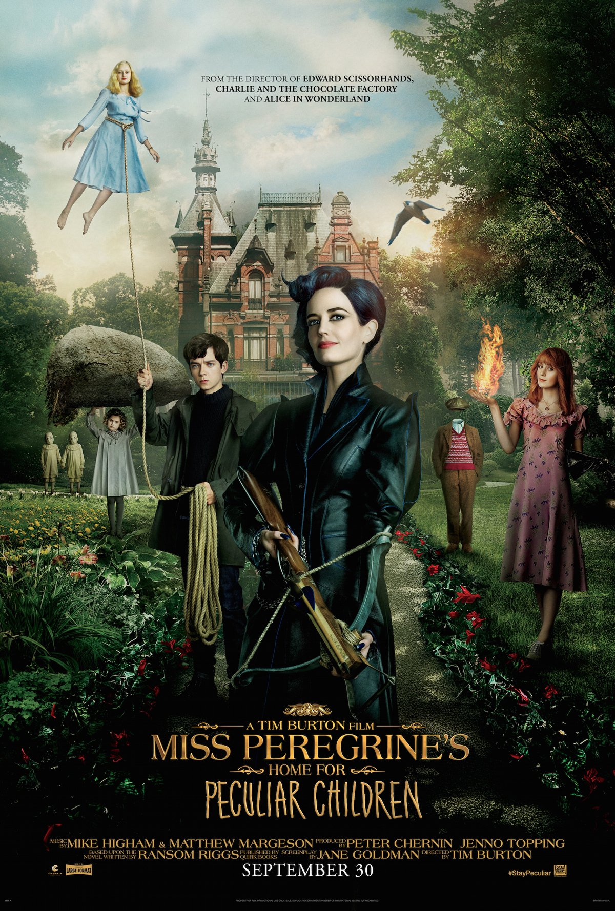 Miss Peregrine Movie Poster