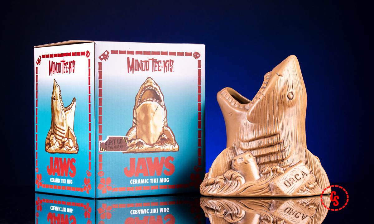 Jaws Bruce the Shark Tiki Mug (Don't Go in the Water Variant)