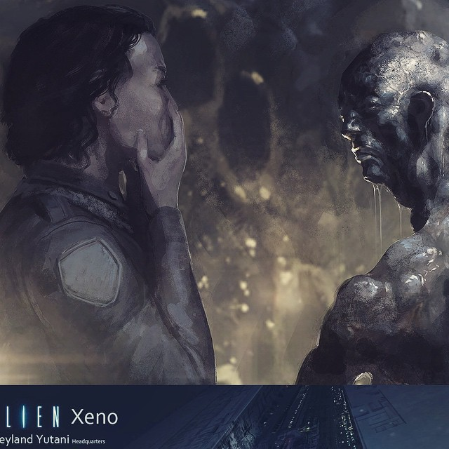 Neill Blomkamp's Alien Sequel Concept Art