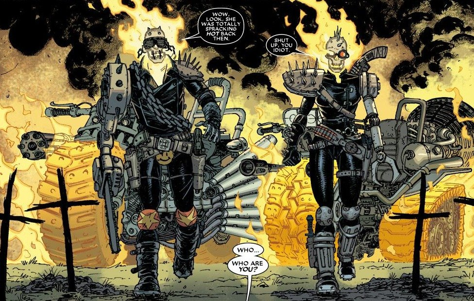 ghost rider origins and evolutions - blogs
