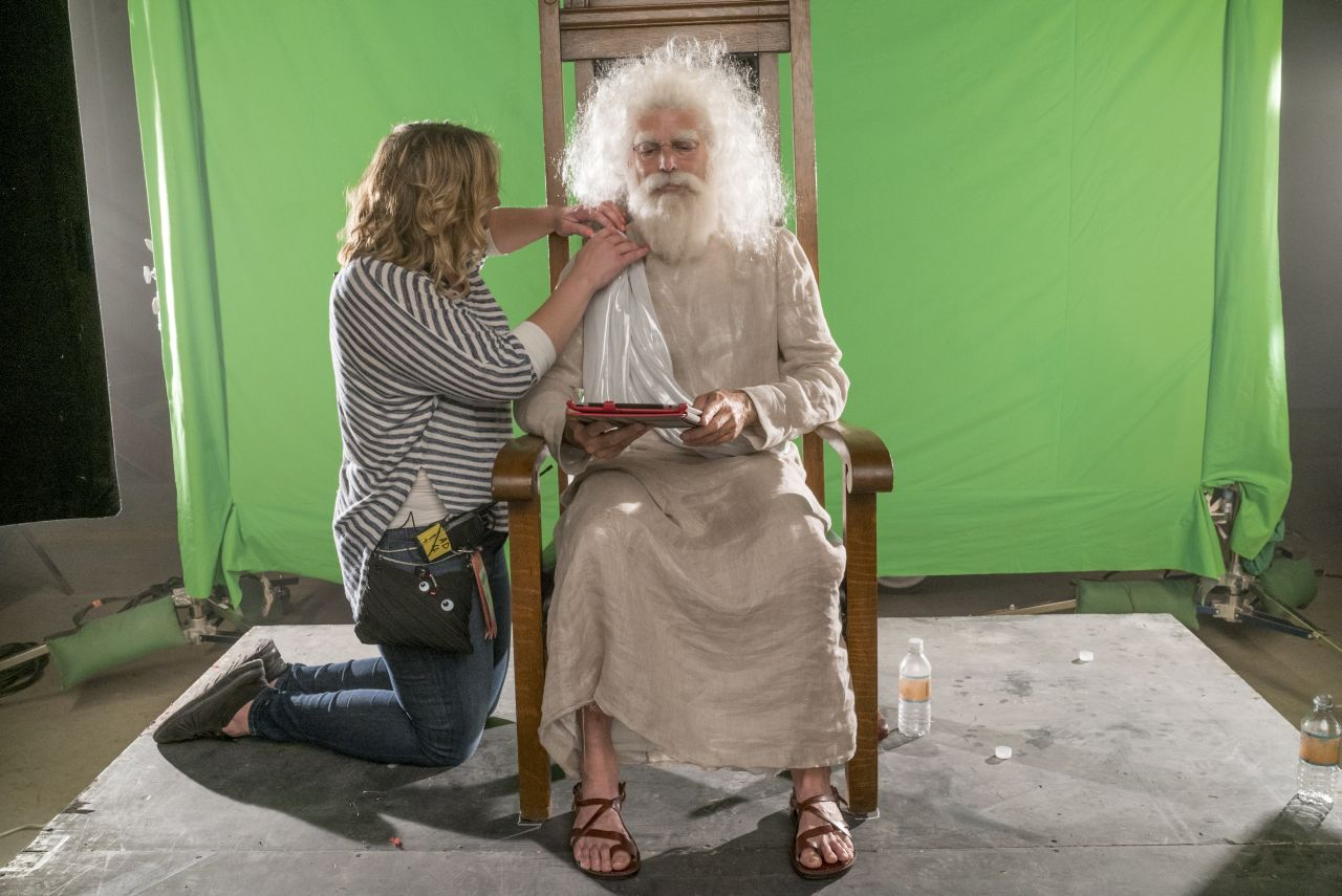 BTS, Mark Harelik as God - Preacher _ Season 1, Episode 9 - Photo Credit: Lewis Jacobs/Sony Pictures Television/AMC