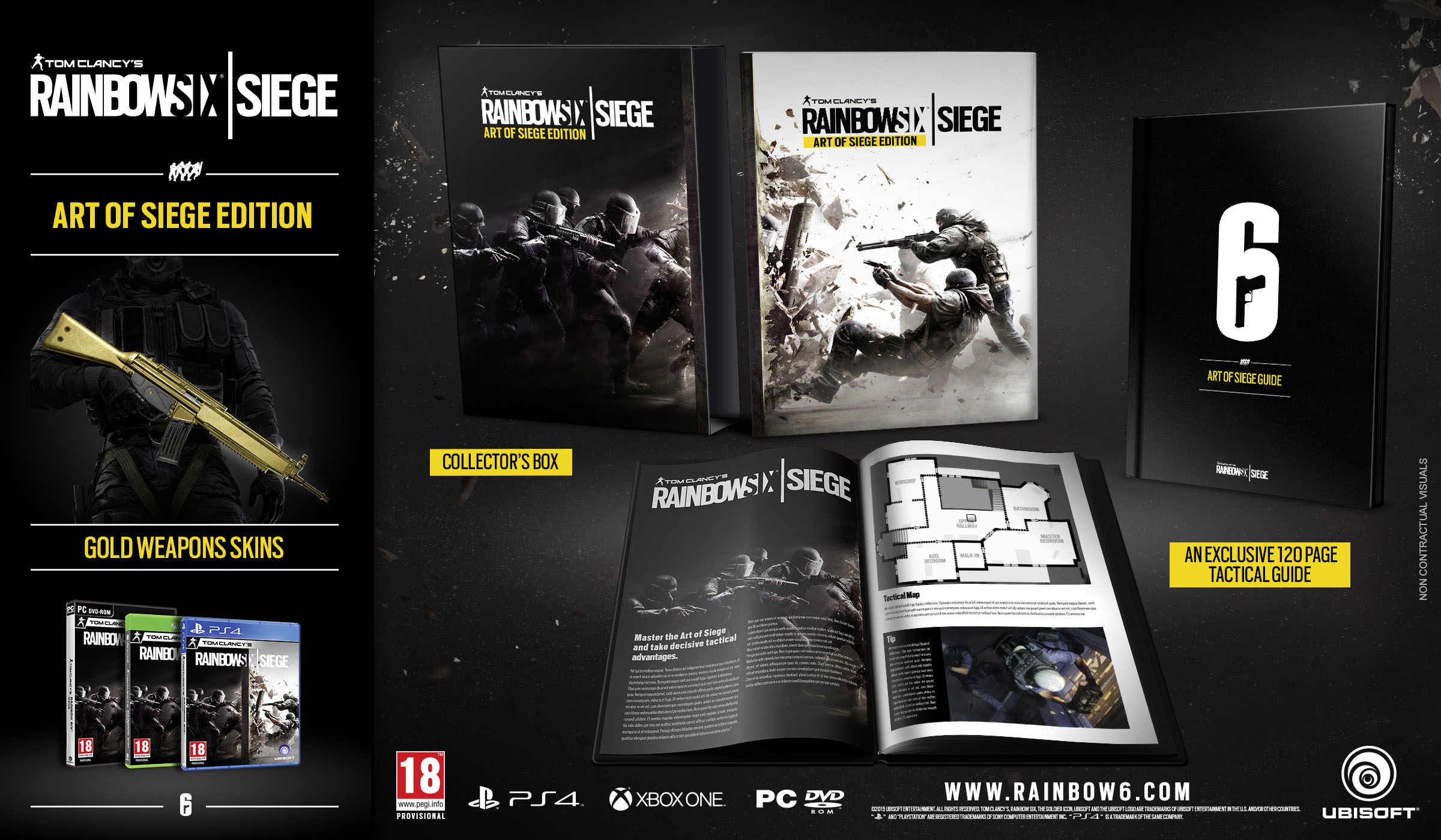 Rainbow Six Siege Collector's Edition