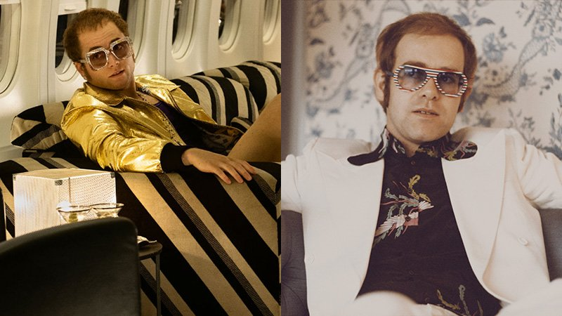 Egerton as John & Elton John in 1973