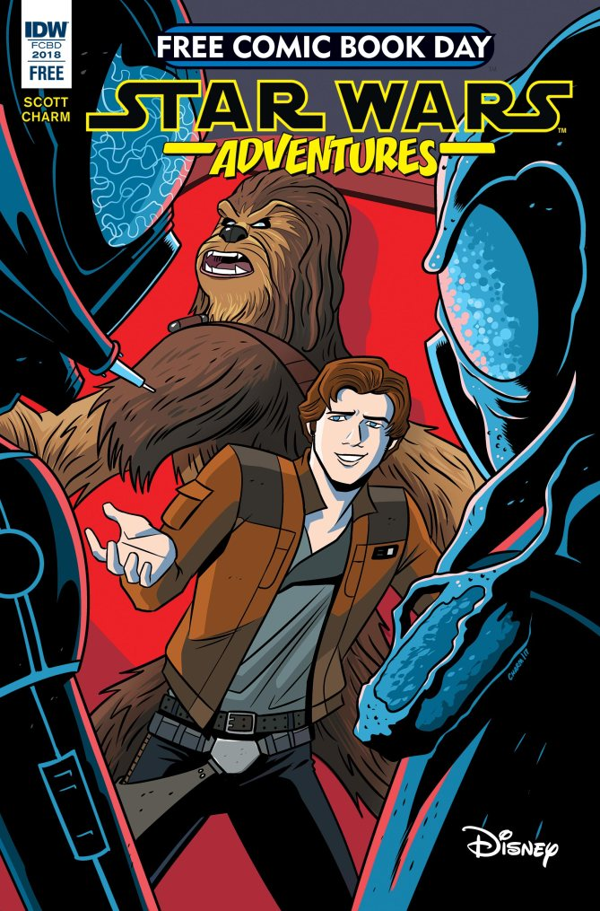Star Wars: Adventures (free comic book day preview)
