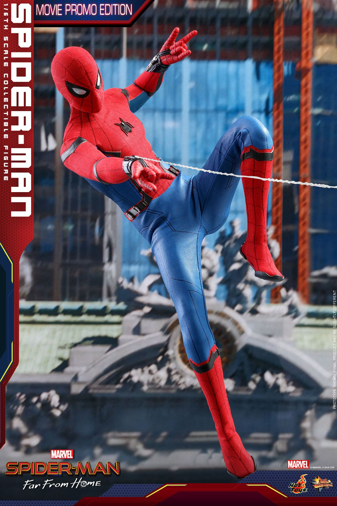 Spider-Man Far From Home Hot Toy Swings In - Comingsoonnet-7194