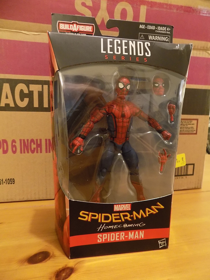 Hasbro Marvel Legends Assortment Unboxing