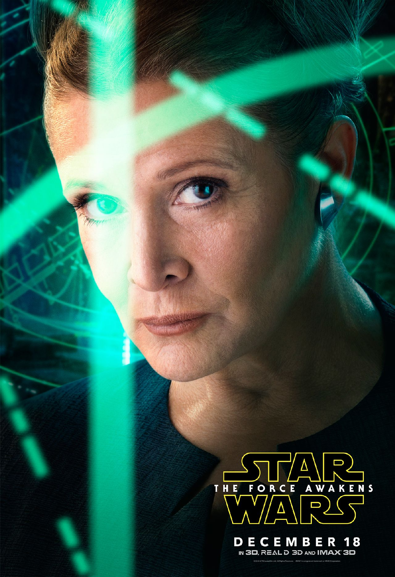 Star Wars: The Force Awakens Leia