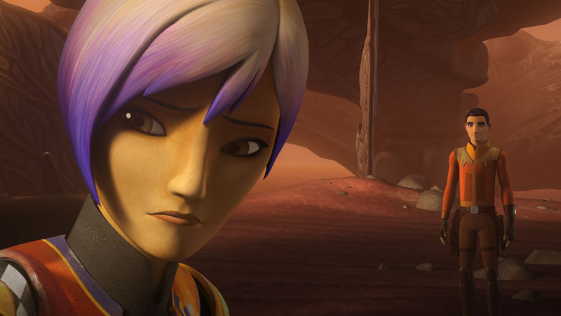Star Wars Rebels - Trials of the Darksaber