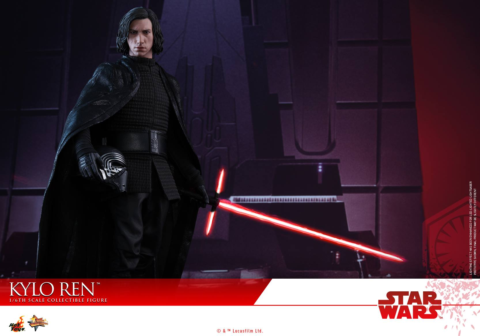 SW: The Last Jedi - 1/6th scale Kylo Ren Collectible Figure