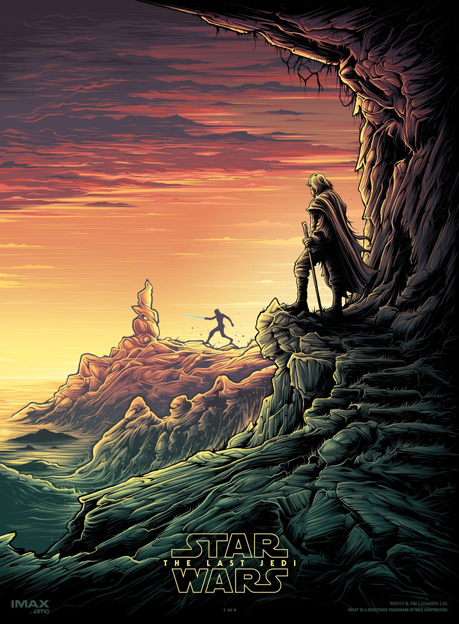 Star Wars: The Last Jedi AMC IMAX poster #1