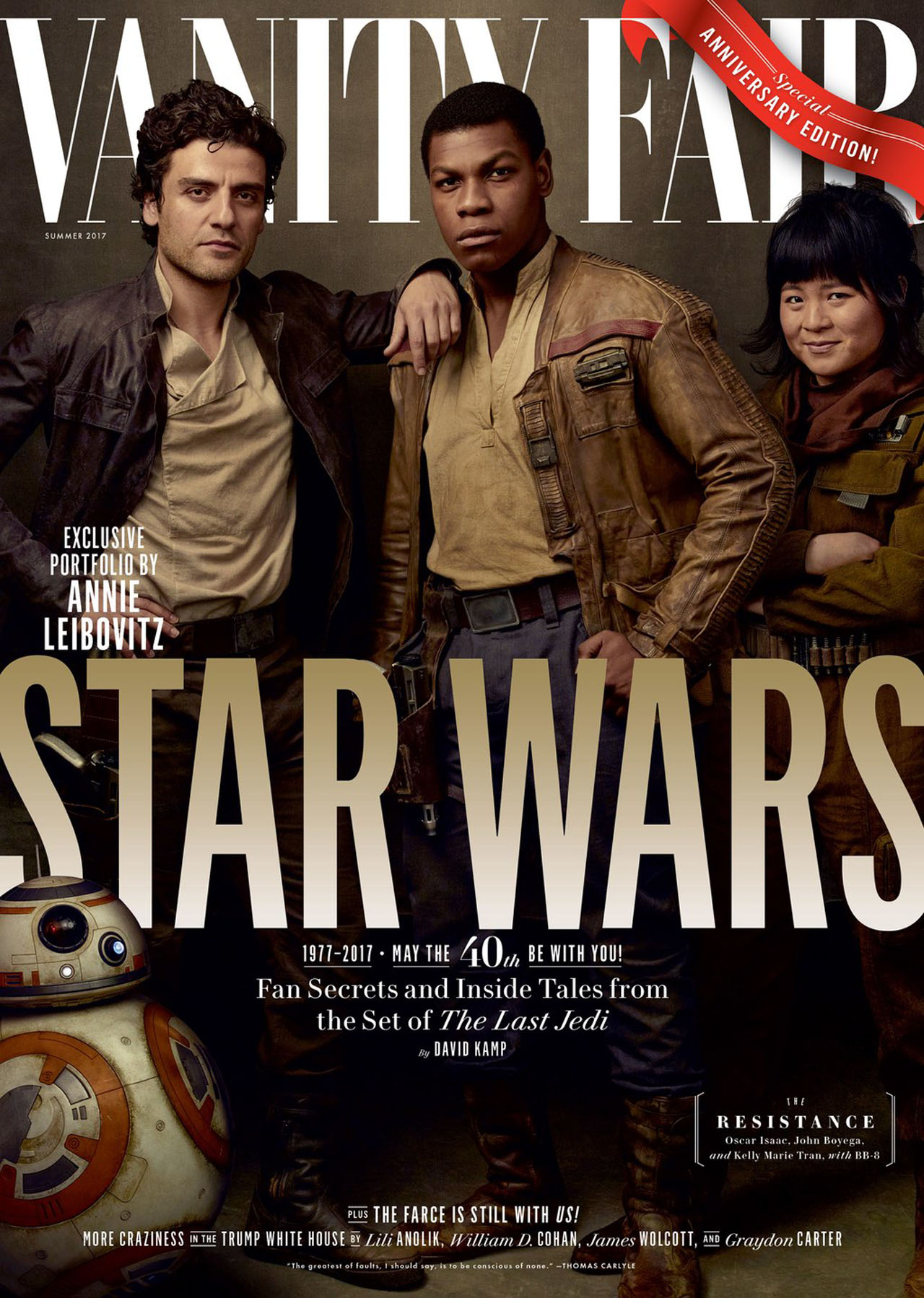Star Wars: The Last Jedi Vanity Fair Covers