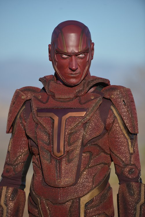 Supergirl's Red Tornado