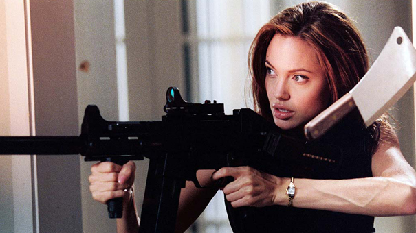4. Mr. & Mrs. Smith (2005)
