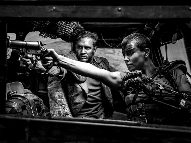 Mad Max: Fury Road (Black & Chrome) (2015)