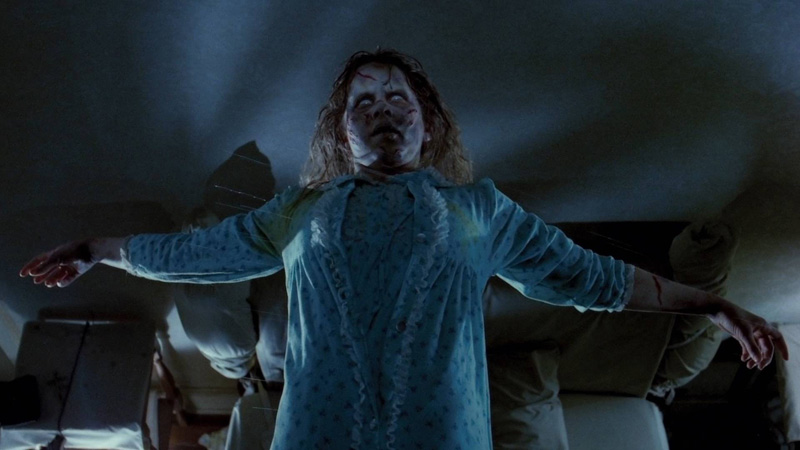 Regan MacNeil in THE EXORCIST (1973)