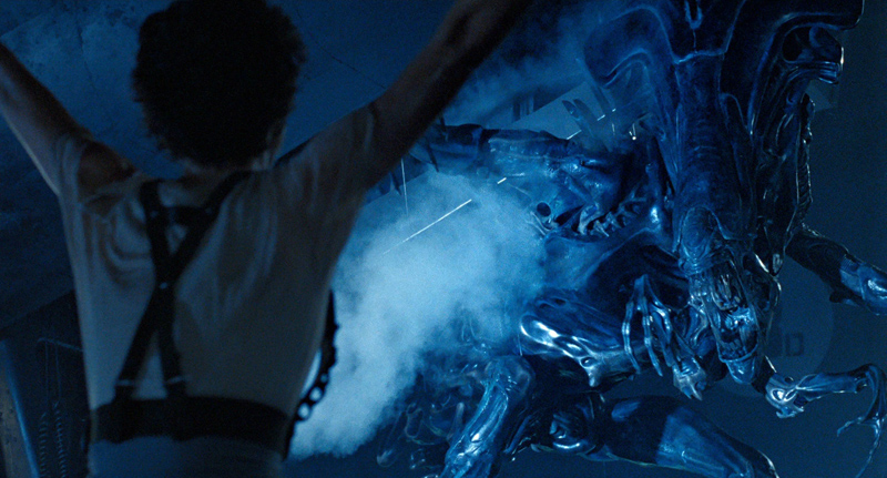 Alien Queen in ALIENS (1986)