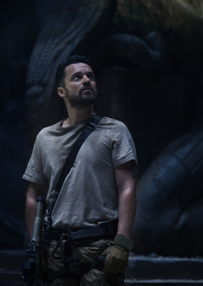 """JAKE JOHNSON as Chris Vail in a spectacular, all-new cinematic version of the legend that has fascinated cultures all over the world since the dawn of civilization: """"The Mummy.""""  From the sweeping sands of the Middle East through hidden labyrinths under modern-day London, """"The Mummy"""" brings a surprising intensity and balance of wonder and thrills in an imaginative new take that ushers in a new world of gods and monsters."""