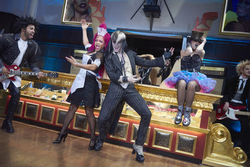 THE ROCKY HORROR PICTURE SHOW: LET'S DO THE TIME WARP AGAIN: L-R: Christina Milian, Reeve Carney and Annaleigh Ashford in THE ROCKY HORROR PICTURE SHOW: LET'S DO THE TIME WARP AGAIN: Premiering Thursday, Oct. 20 (8:00-10:00 PM ET/PT) on FOX. ©2016 Fox Broadcasting Co. Cr: Steve Wilkie/FOX