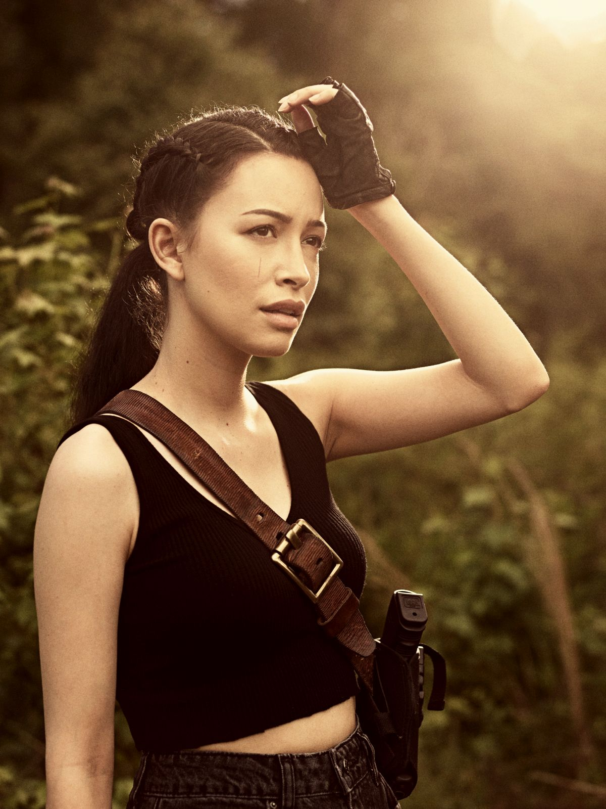 Christian Serratos as Rosita Espinosa - The Walking Dead _ Season 9, Gallery- Photo Credit: Victoria Will/AMC