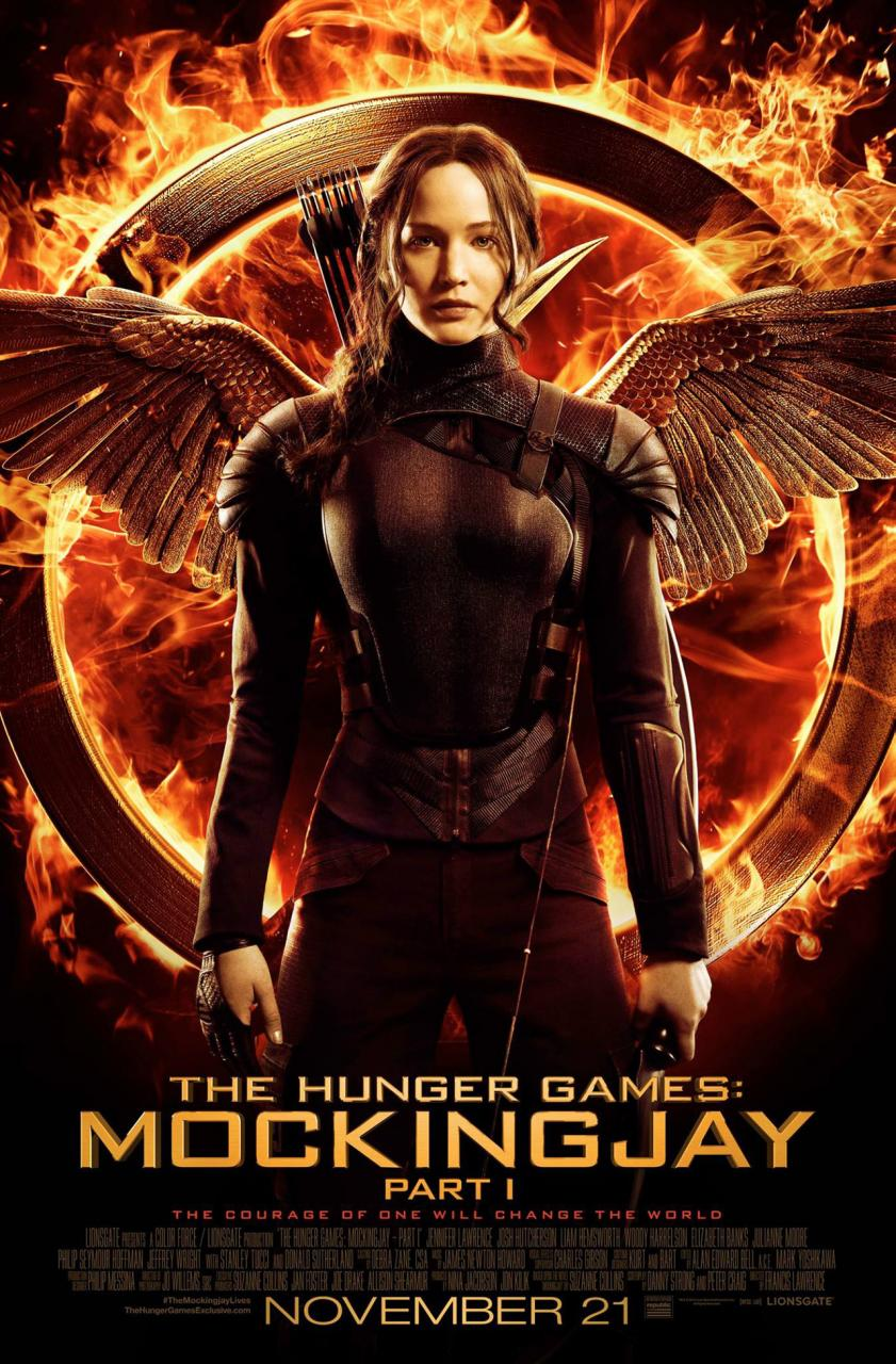 #10 The Hunger Games: Mockingjay - Part 1 (Lionsgate)
