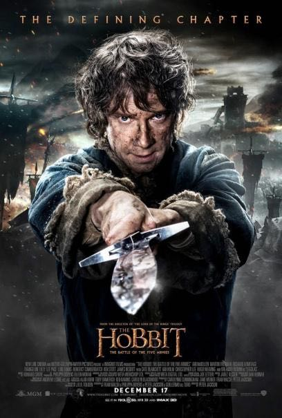 #1 The Hobbit: The Battle of Five Armies (New Line/WB)