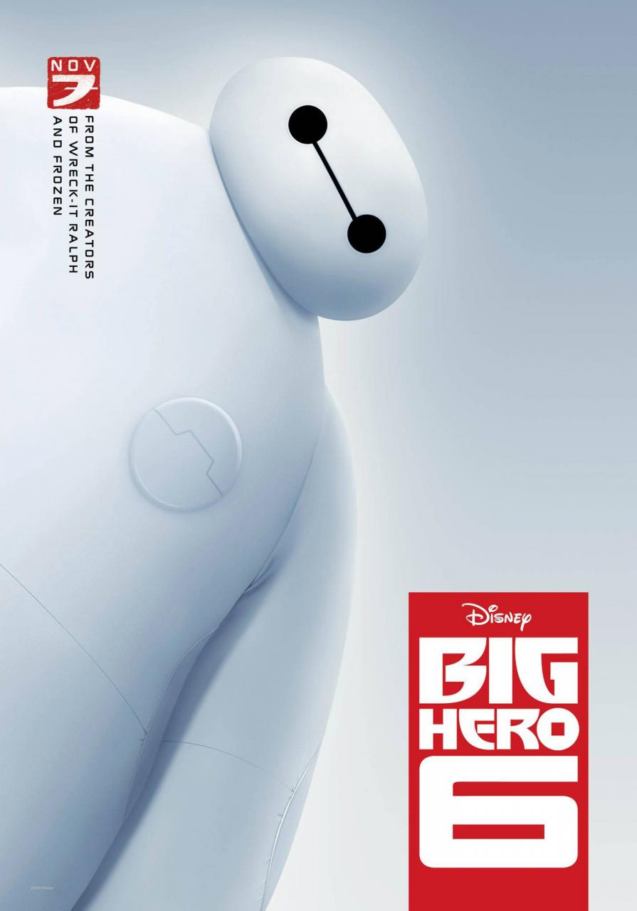 #4 Big Hero 6 (Disney)
