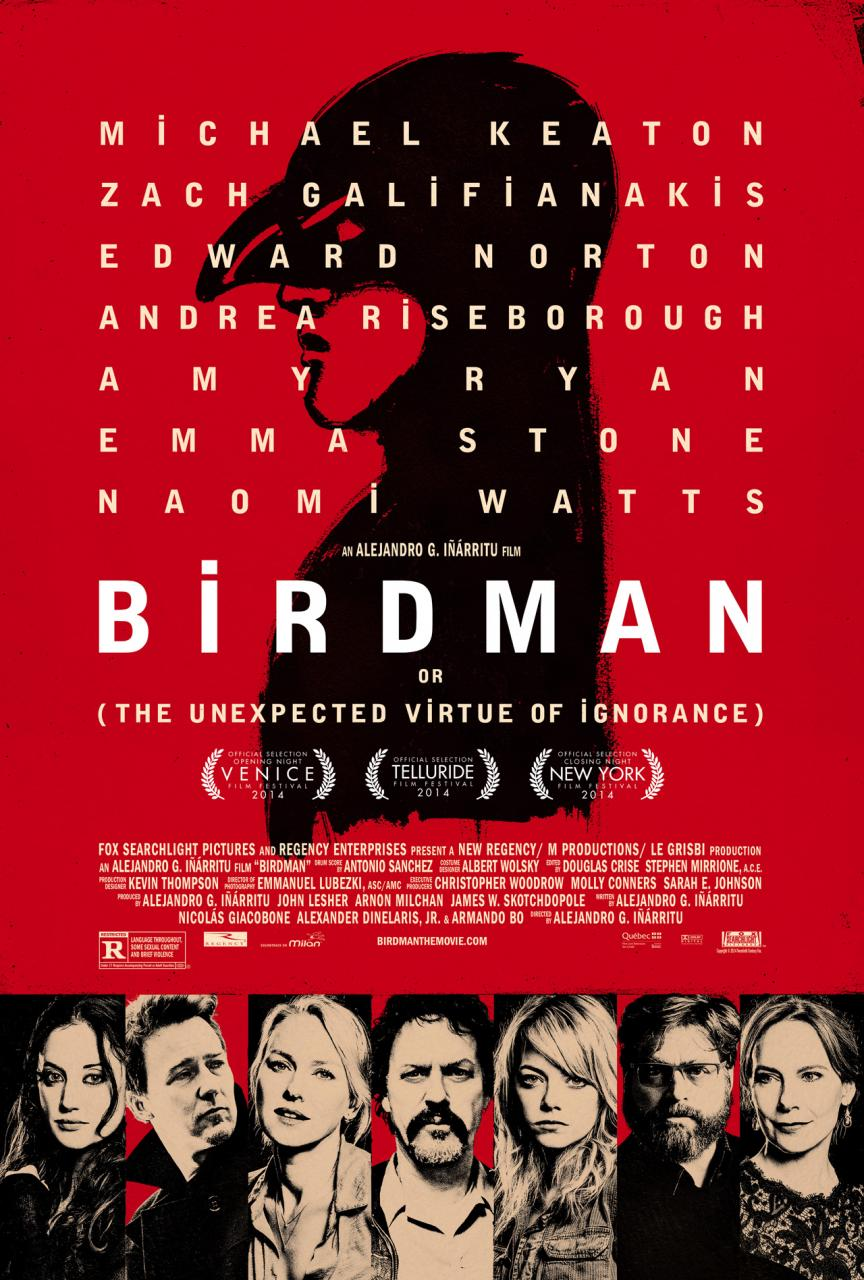 #9 BIrdman (Fox Searchlight)