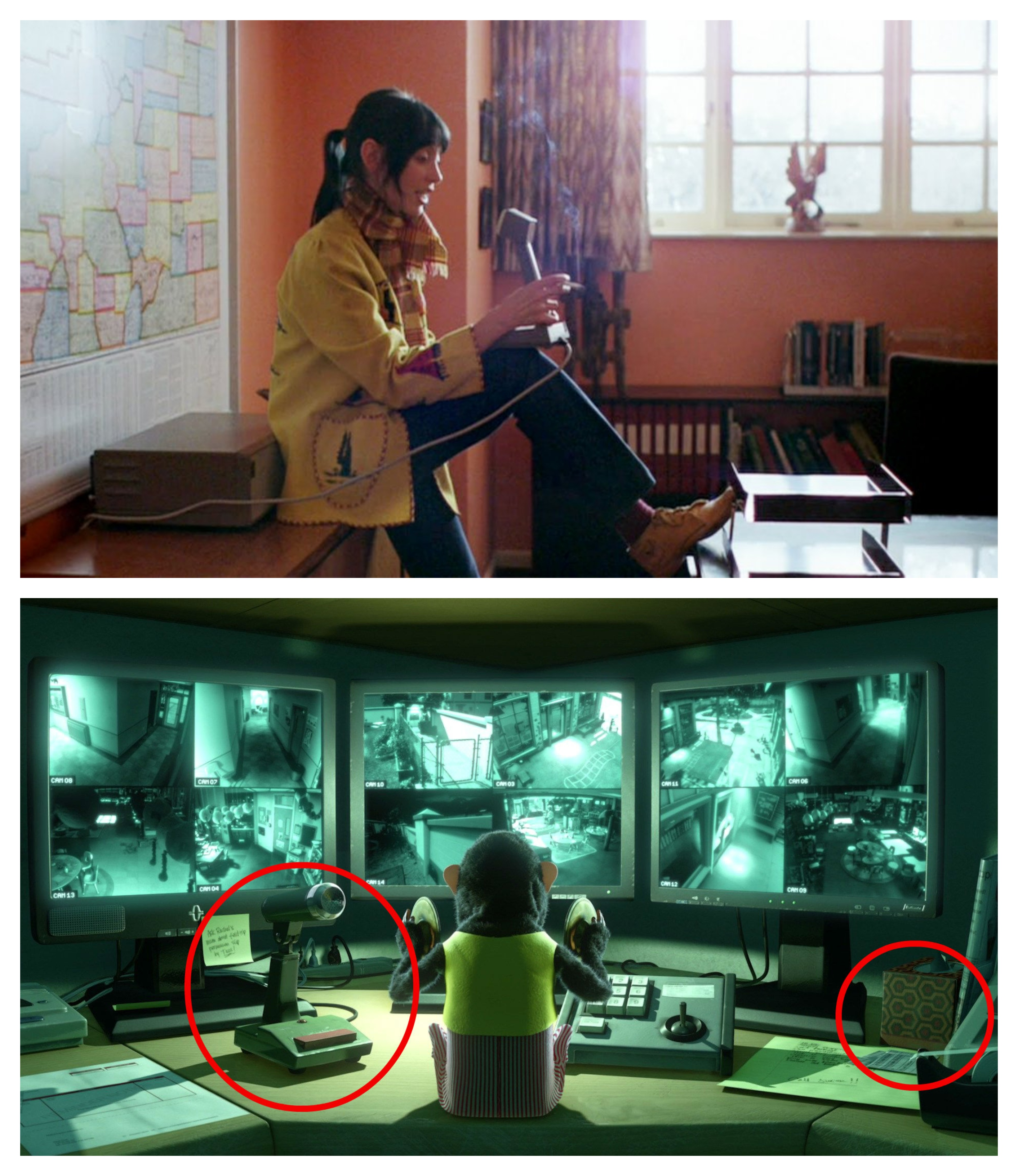 The Shining in Toy Story 3