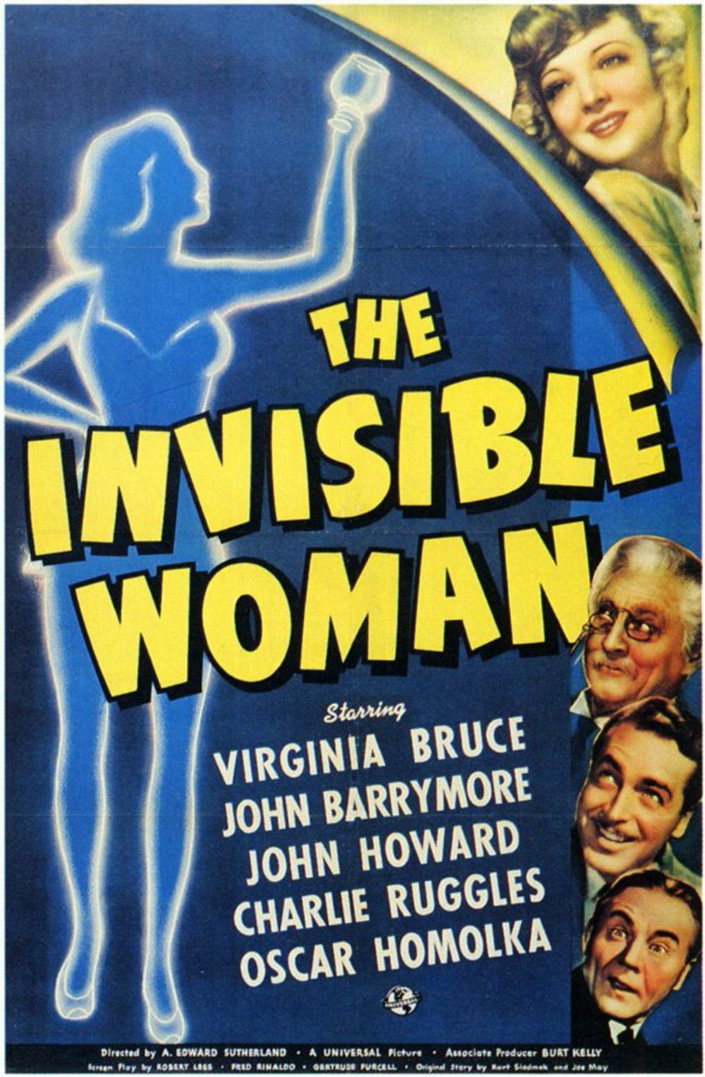 The Invisible Woman - 1940