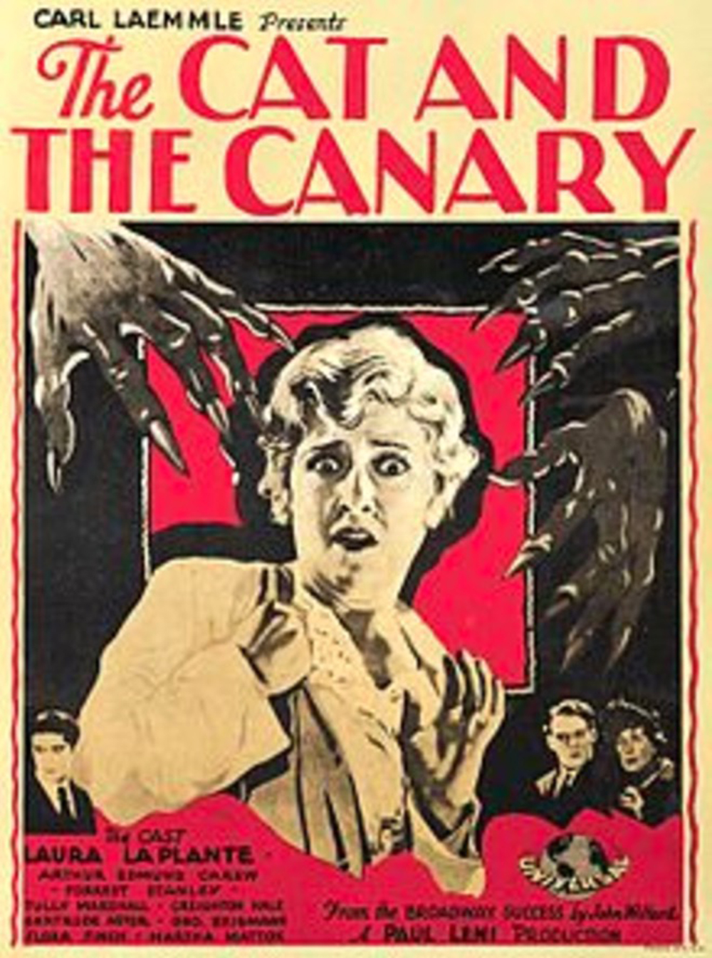 The Cat and the Canary - 1927