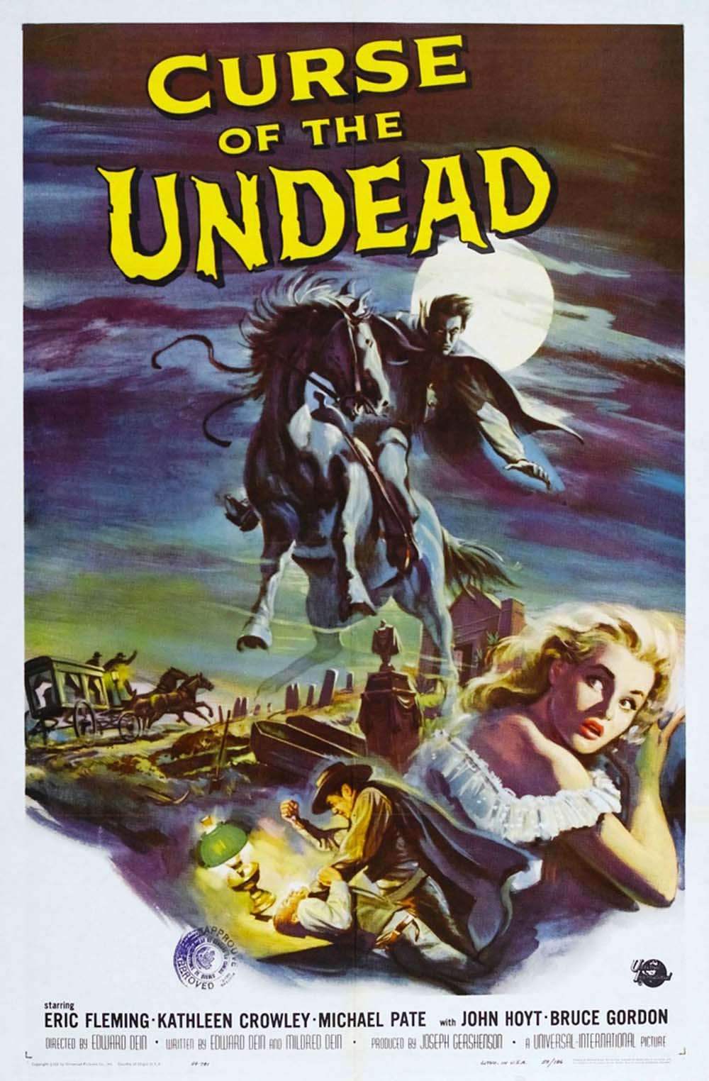 The Curse of the Undead - 1959