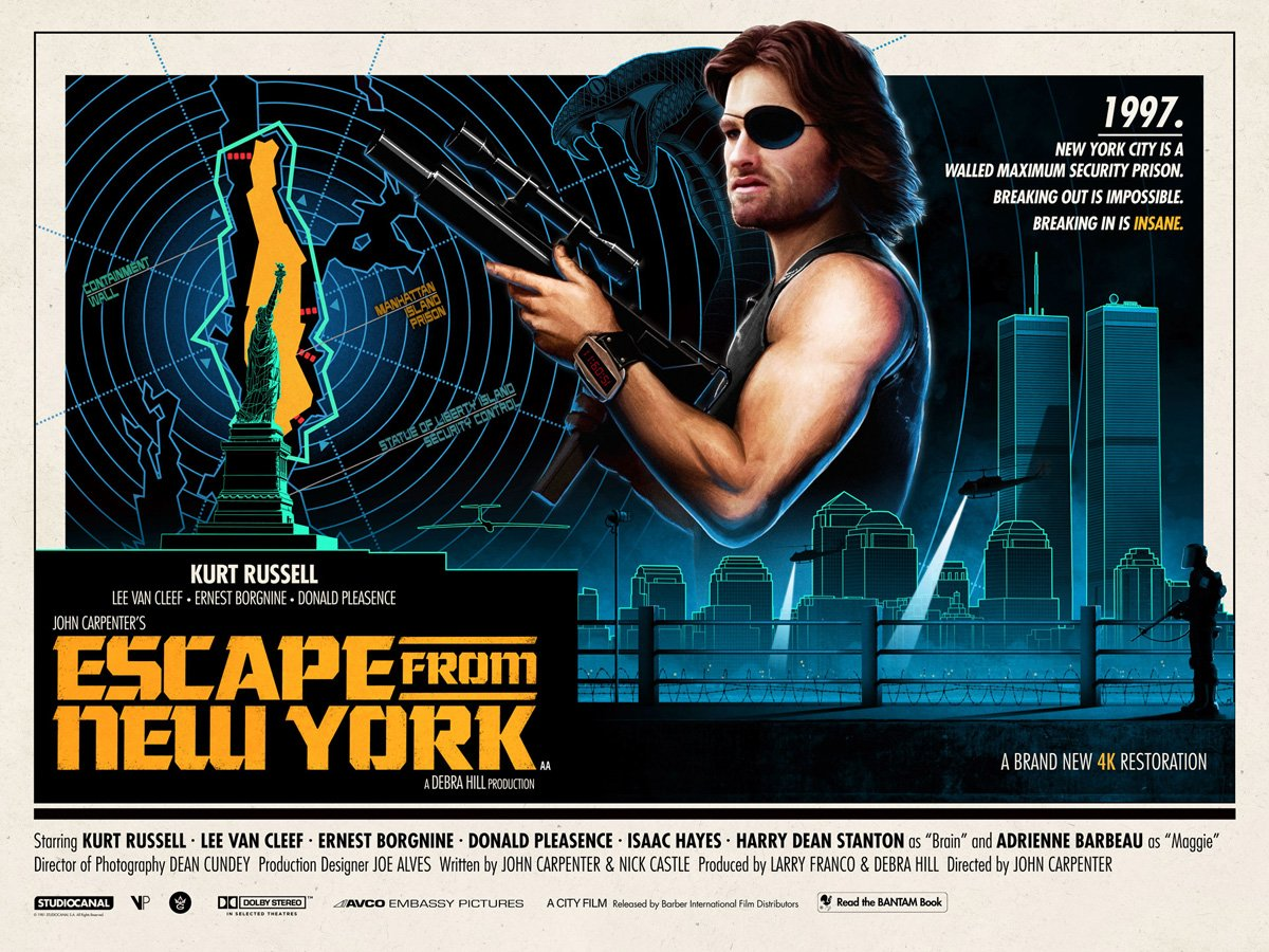 Matt Ferguson, Escape From New York
