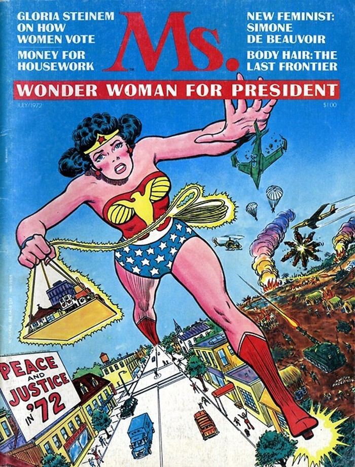 Wonder Woman on Ms. Magazine