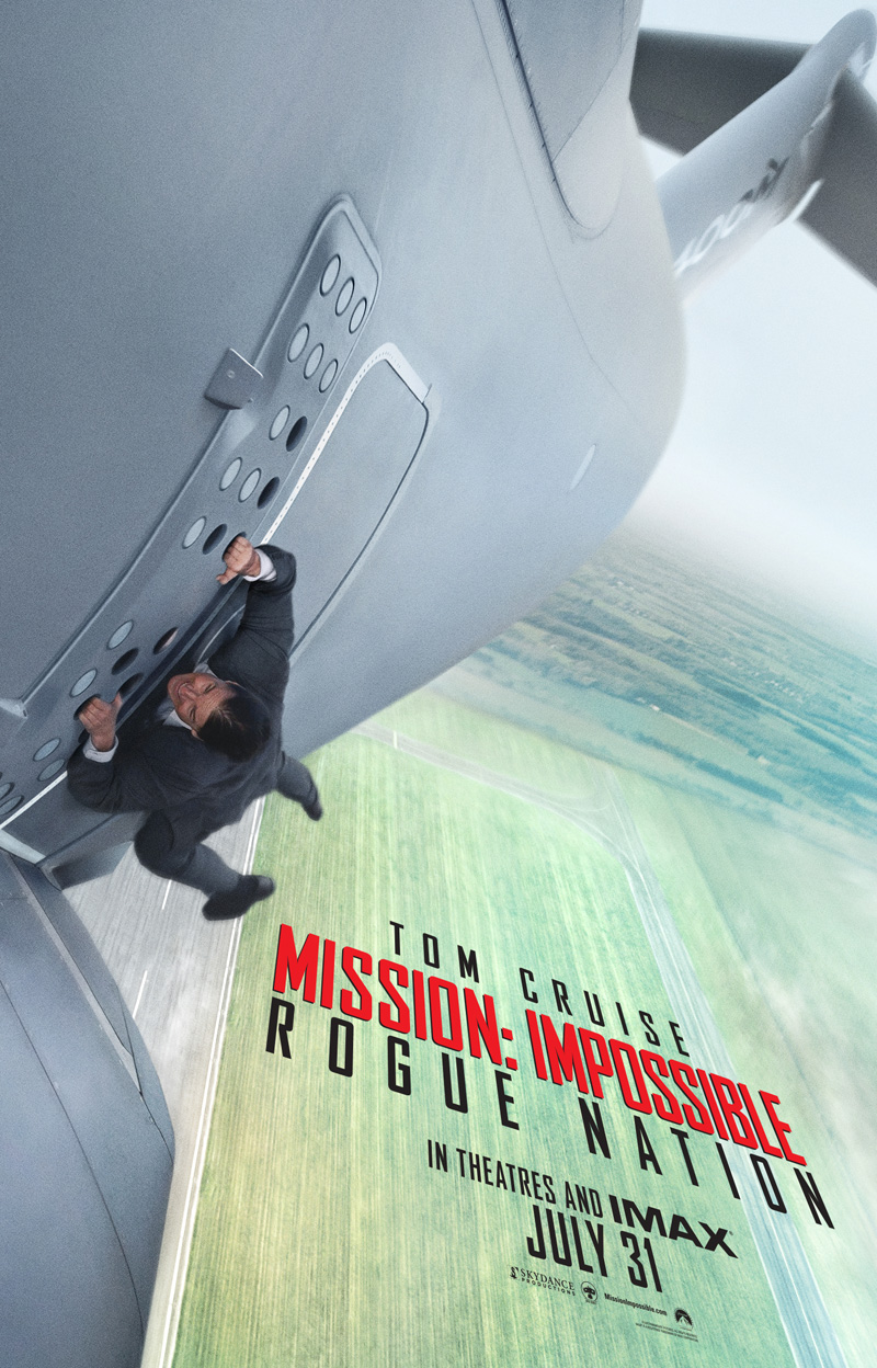 #5 Mission: Impossible Rogue Nation