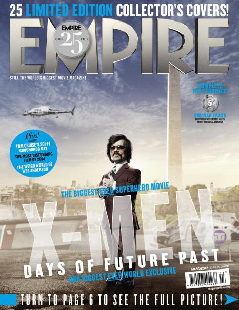 X-Men: Days of Future Past Empire Covers